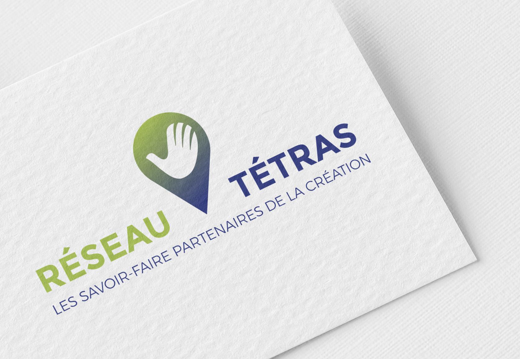 Logotype du Réseau Tétras, les savoir-faire partenaires de la création